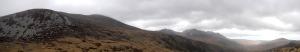 Looking towards the ridgeline