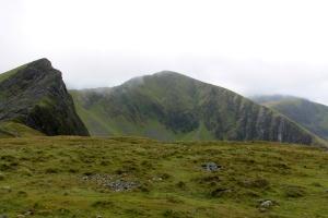 contemplating the ridge