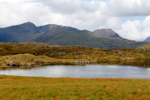 Beautiful if boggy terrain in the Moelwyns