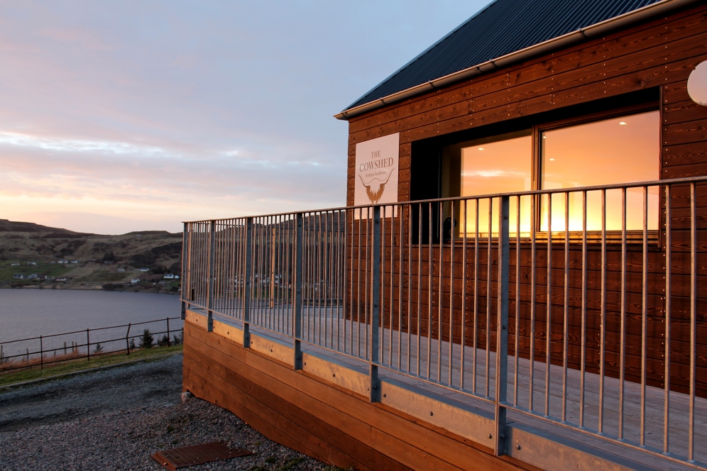 "The Cowshed, Uig ""A boutique bunkhouse"""