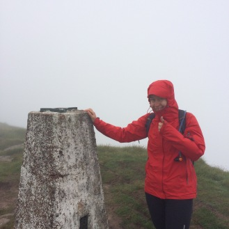 Could be any number of mist enveloped trig points