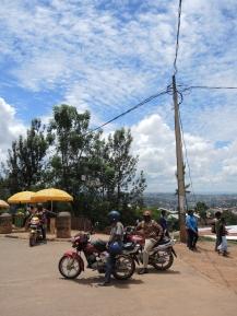 Street scenes in Kigali