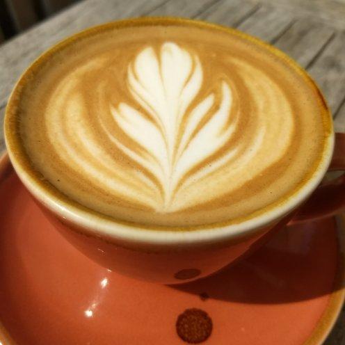 Obligatory sot of top notch coffee
