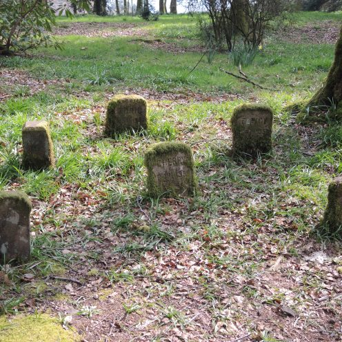 All good country houses need a pet cemetery