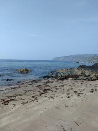 Beautiful beach at Kildonan