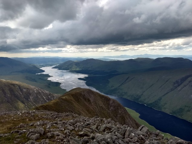 View over Loch Etive